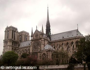 Gótico de Transición en Francia: catedral de Notre Dame de París