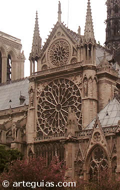 Arquitectura Gótica en Francia: Notre Dame