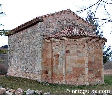 Perazancas de Ojeda. Ermita de San Pelayo