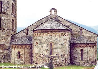 Cabecera de Sant Climent de Taüll