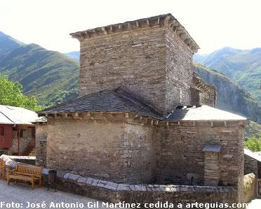 Pe alba de santiago for Arquitectura mozarabe