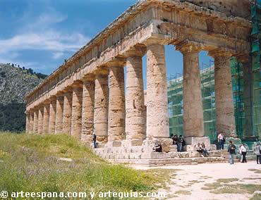 Arte griego arteguias for Arquitectura griega templos