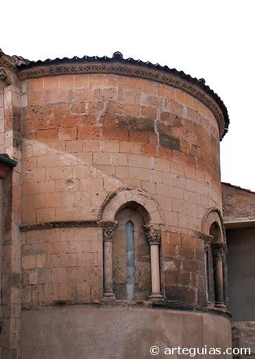 Cabecera de la iglesia de Santiago de Turégano, Segovia