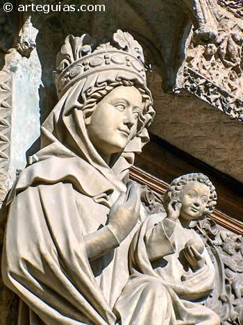 Virgen Blanca de la Catedral de León