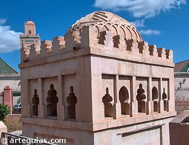 Qubbat Barudiyin de Marrakech, monumento almorávide