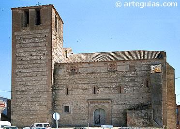 Iglesia de San Miguel desde el norte
