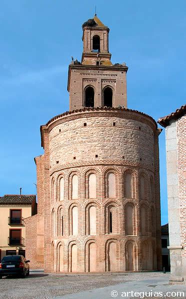 Iglesia románico mudéjar de Santa María, Arévalo