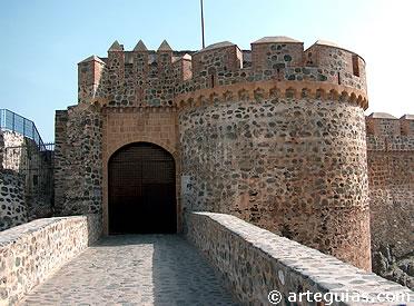 Entrada al castillo de Almuñécar