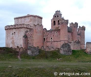Castillo de Turégano, desde el norte