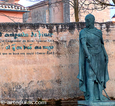 El Cid histórico combatio tanto contra musulmanes como contra cristianos