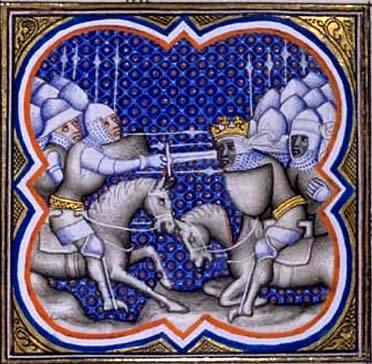 Tropas carolingias en la Batalla de Roncesvalles