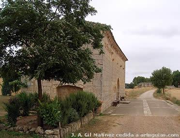 Ermita de San Nicolás, frente a Puente Fitero