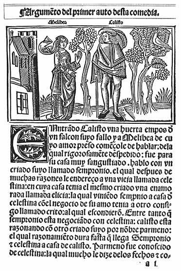 Una de las cumbres de laliteratura española bajomedieval: La Celestina, de Fernando de Rojas
