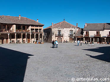 Plaza Mayor de Pedraza, Segovia