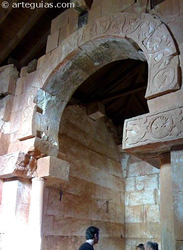 Arco triunfal. Quintanilla de las Viñas