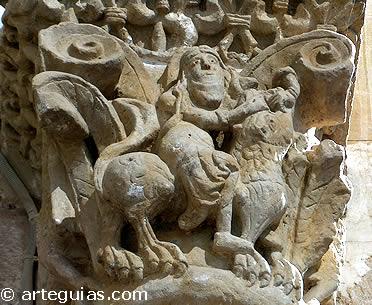 Sansón y el león. San Claudio de Olivares
