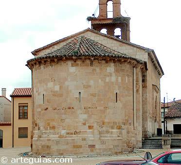 Ábside de la iglesia de San Claudio de Olivares