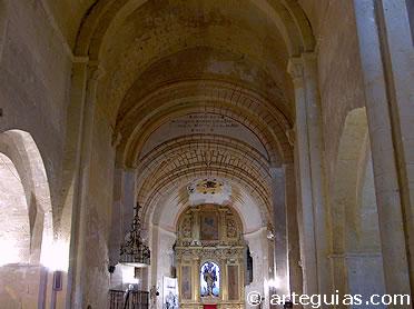 Nave central de la iglesia de San Miguel de Turégano