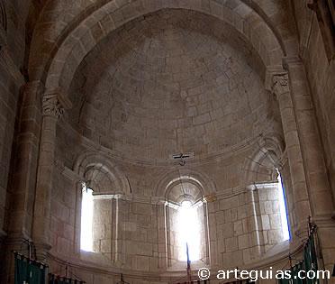 Santa María de Horta. Interior del ábside