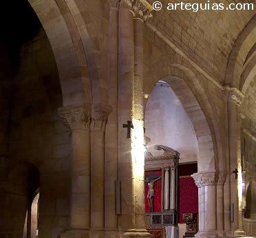 Interior de Santo Domingo. Ciudad de Soria