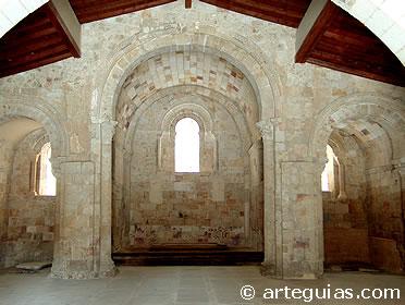 Interior de la iglesia de Santo Tomé, Zamora