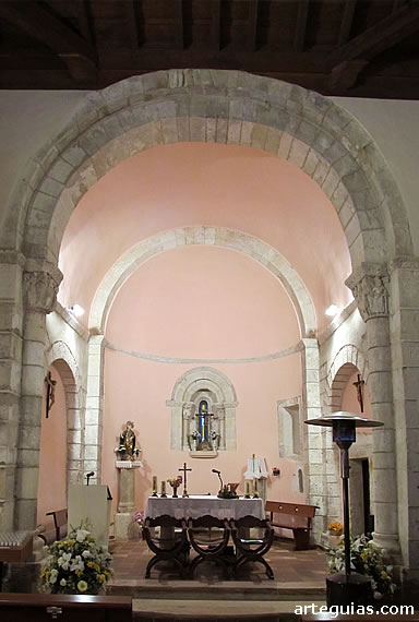 Interior del ábside
