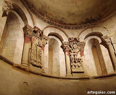 Interior del ábside de Santiago, Turégano
