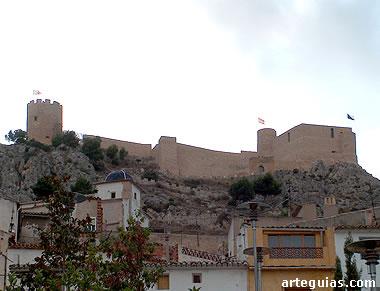 Castillo de Castalla al atardecer