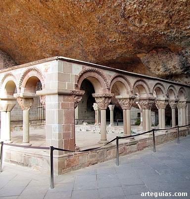Claustro románico de San Juan de la Peña