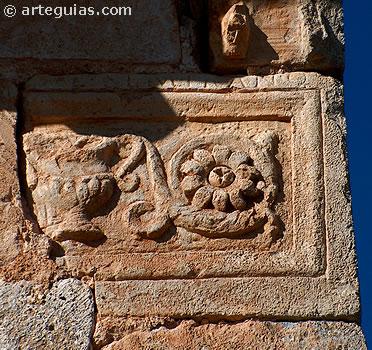 Relieve romano acarreado desde la ciudad romana de Clunia