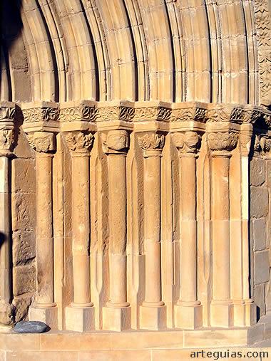 Columnas de la puerta