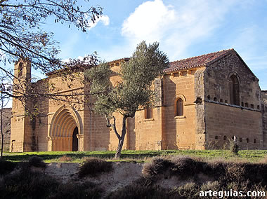 Magnífica ermita de Cuzcurrita del Río Tirón
