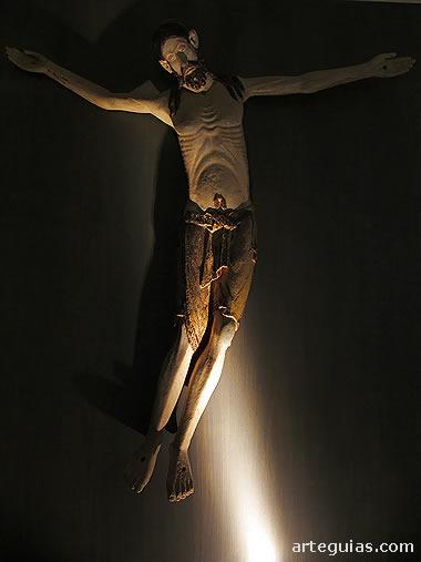 Cristo románico. Museo de Jaca