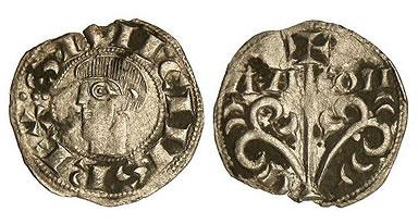 Dinero de Sancho Ramírez de Aragón