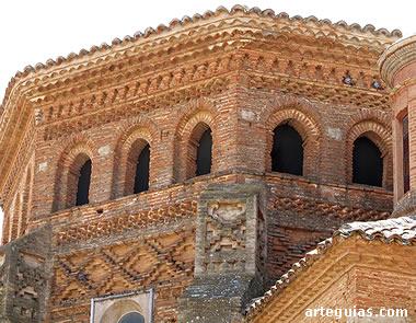 Cabecera mudéjar de la iglesia de Encinacorba (Campo de Cariñena)