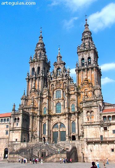 Catedral Santiago De Compostela Arteguias