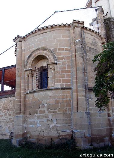 Ermita de la Junquera: ábside
