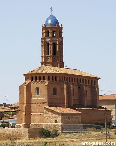 Iglesia mudéjar de Mainar, en Campo de Daroca