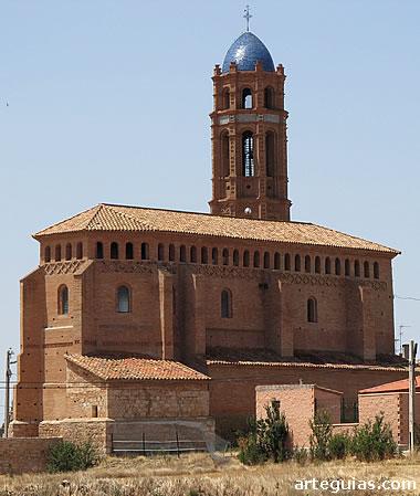 Iglesia de Mainar desde el noreste
