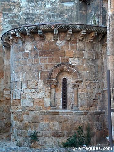 Ábside de la iglesia de Santa María del Mercado de León