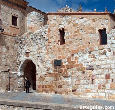 Entrada a la ciudad de Zamora
