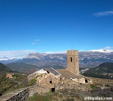 Muro de Roda, en El Sobrarbe