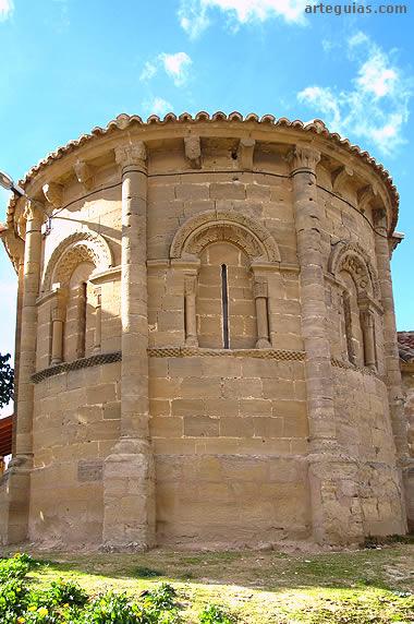 Románico de Los Obarenes: iglesia de Castilseco