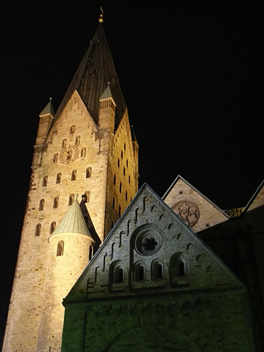 Torre de la catedral de Paderborn