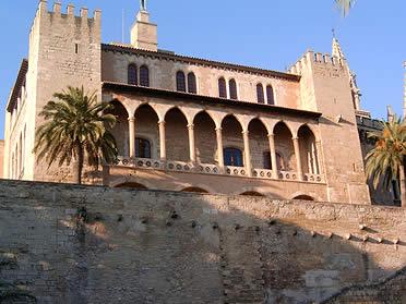 Palacio real de la Almudaina. Palma de Mallorca