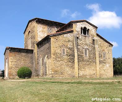 Iglesia prerrománica prerramirense de Santullano de los Prados