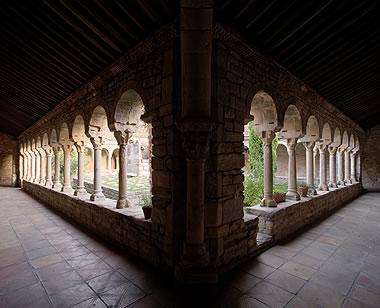 Claustro de la catedral de Roda de Isábena, La Ribagorza