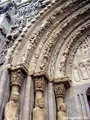Románico en Navarra : Santa María de Sangüesa