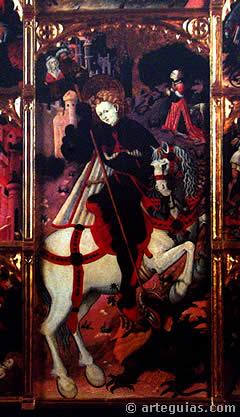 San Jorde, del Maestro de Jérica