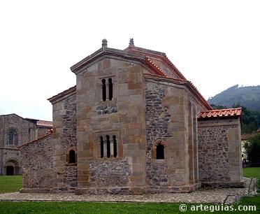 Cabecera de la iglesia prerrománica de San Salvador de Valdediós